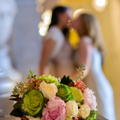 flowers with brides 1